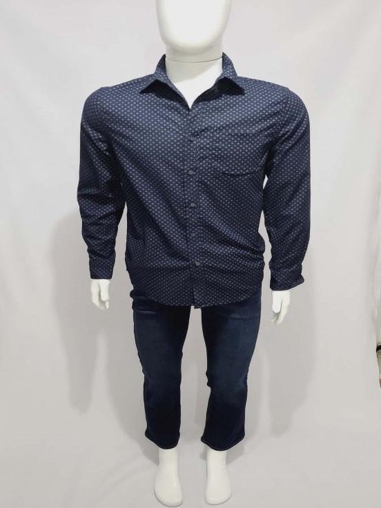 Camisa de vestir manga larga  Super Premium de Caballero  Talla S Semi nuevo