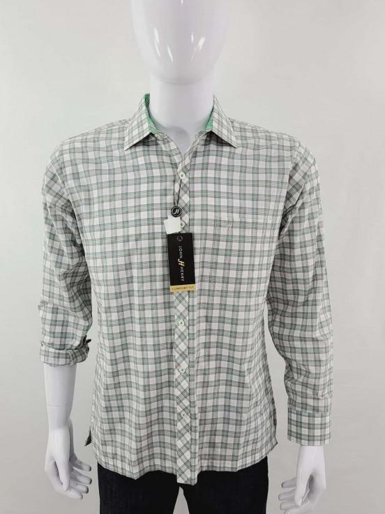 Camisa de vestir manga larga Premium de Caballero Talla M Nuevo