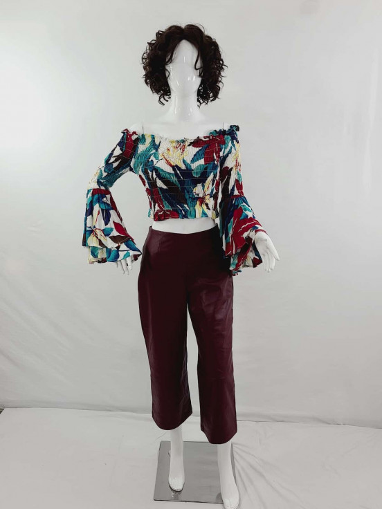 pantalon de cuerina Super Premium de Dama Talla 2 Nuevo