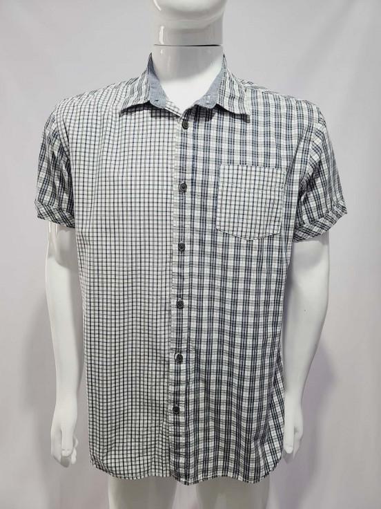 Camisa de vestir manga corta Premium de Caballero Talla XL Semi nuevo