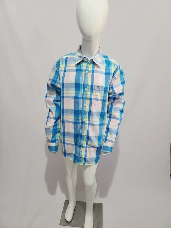 Camisa de vestir manga Larga super Premium de Niño Talla M (12-14) Semi-nuevo
