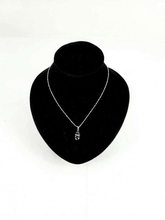 Collar de plata925 con dije Super Premium de Niña Semi nuevo