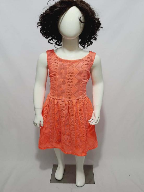 Vestido Largo  Premium de Niña Talla L Semi Nuevo