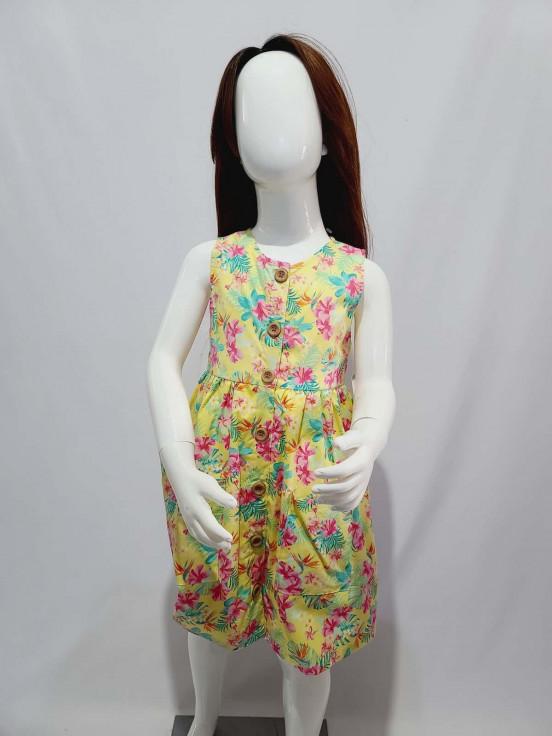 Vestido corto Super Premium de Niña Talla 5 Nuevo