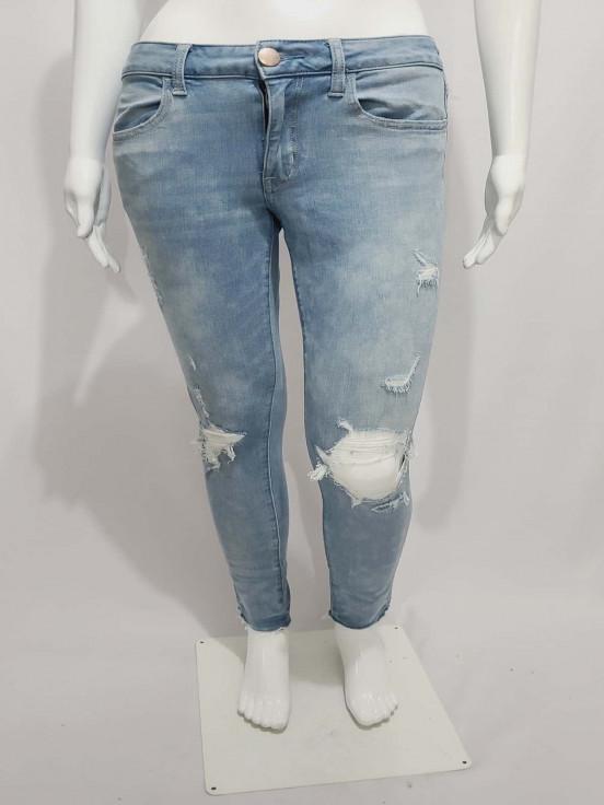 Pantalon Jeans Stretch Super Premium de Dama Talla 6 Semi nuevo