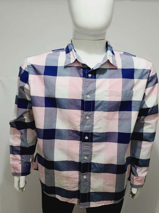Camisa de Vestir manga larga  Super Premium de Caballero Talla XL Nueva
