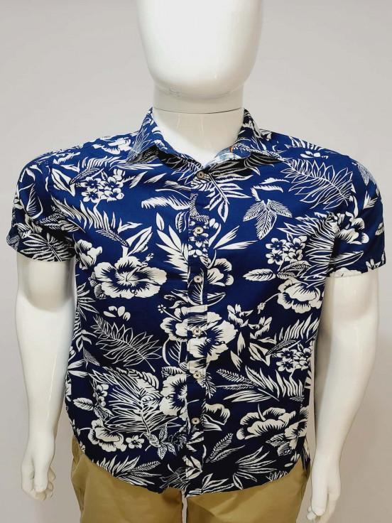Camisa de vestir manga corta  Super Premium de Caballero Talla M Semi nuevo