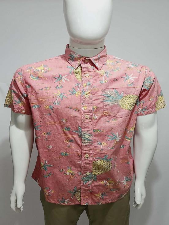 Camisa de vestir manga corta  Super Premium de Caballero Talla L Semi nuevo