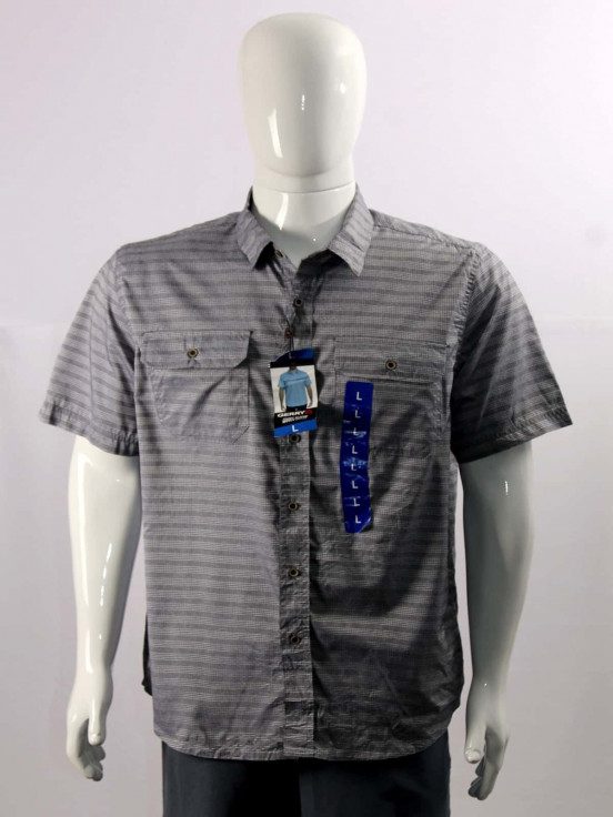 Camisa de vestir manga corta Super premium de Caballero Talla L Nuevo