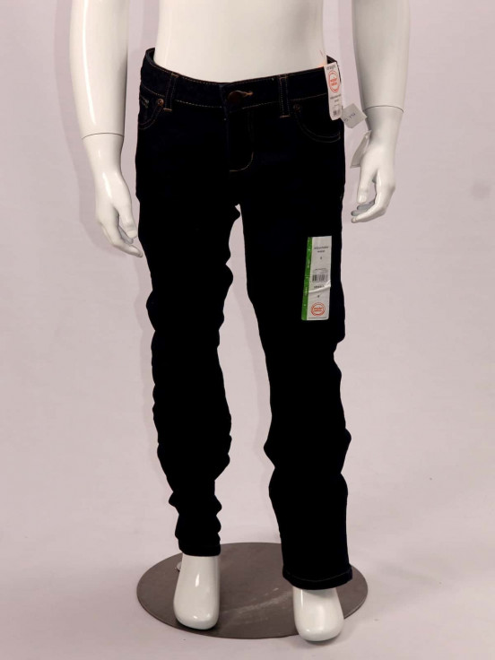 Pantalón jeans stresh Super premium de Niña Talla 8 Nuevo