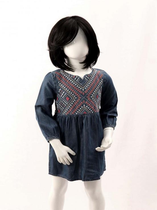 Vestido corto Super Premium de Niña Talla 3T Nuevo