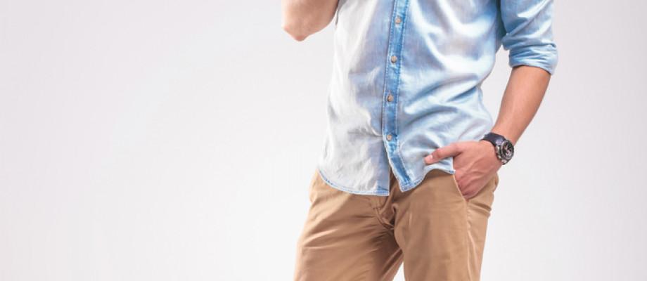 Combinar Un Pantalon Beige De Vestir Para Hombre